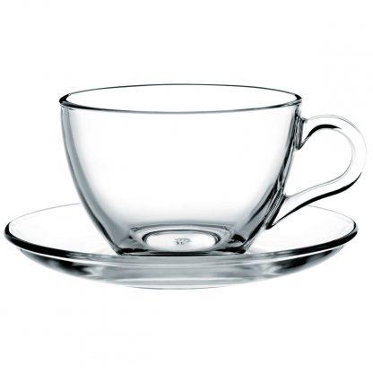 Купить Набор чайный Basic 6/12пр 220мл прозрачное закаленное стекло в Санкт-Петербурге по недорогой цене и с быстрой доставкой.