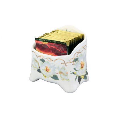 Купить Подставка для чайных пакетиков Букет 11см фарфор в Санкт-Петербурге по недорогой цене и с быстрой доставкой.
