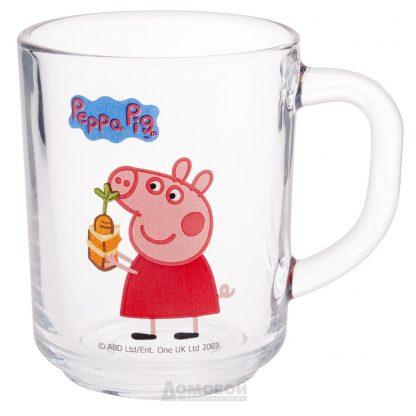 Купить Кружка детская Свинка Пеппа Морковка