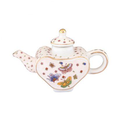 Купить Фигурка декоративная Чайник Бабочки