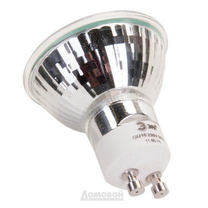 Купить Лампа галогенная ЭРА JCDR-50-230 с отражателем GU10. 50W. 230V в Санкт-Петербурге по недорогой цене и с быстрой доставкой.