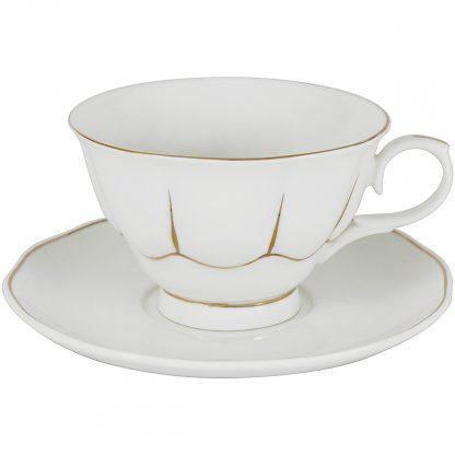 Купить Пара чайная Свежее дыхание 250мл фарфор белый в Санкт-Петербурге по недорогой цене и с быстрой доставкой.