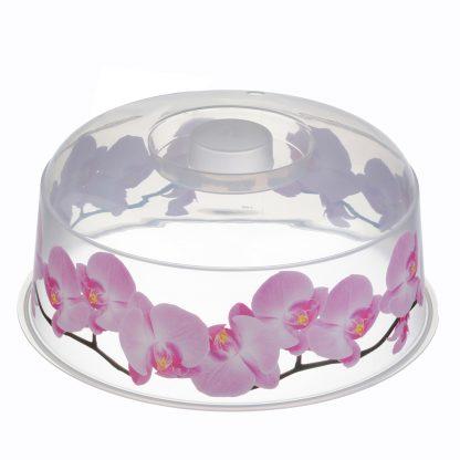 Купить Крышка для свч Деко орхидея в Санкт-Петербурге по недорогой цене и с быстрой доставкой.