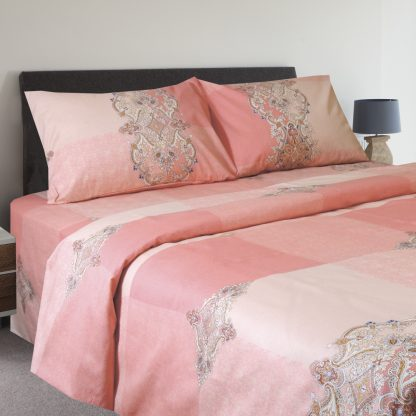 Купить Комплект постельного белья Lana мако-сатин Дуэт р-р:под.150х215см 2шт