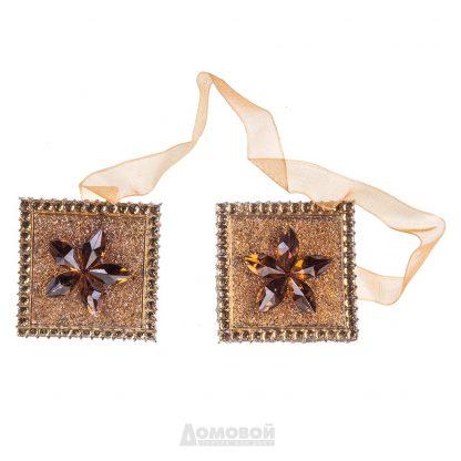 Купить Зажимы для штор квадратные коричневые в Санкт-Петербурге по недорогой цене и с быстрой доставкой.