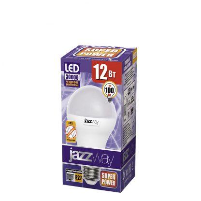 Купить Лампа светодиодная PLED A60 12w 3000K E27 Jazzway в Санкт-Петербурге по недорогой цене и с быстрой доставкой.