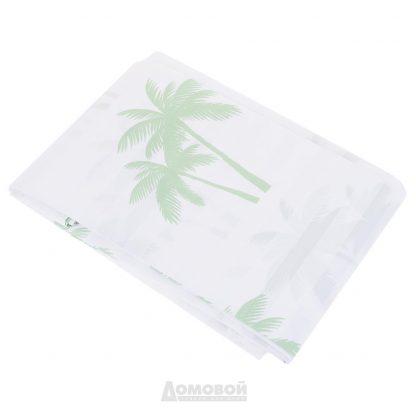 Купить Занавеска для ванной комнаты Bacchetta Palme зеленая