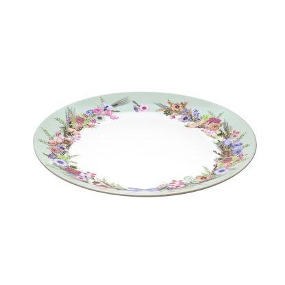 Купить Тарелка Crown of Flowers обеденная 25см