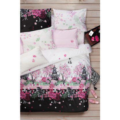 Купить Комплект постельного белья Сова и Жаворонок Сакура 1