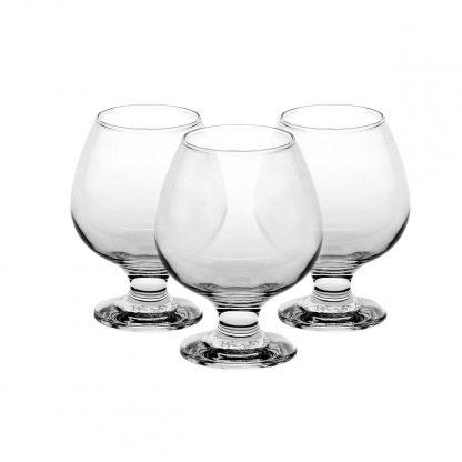 Купить Набор бокалов  д/коньяка Bistro 6шт 360мл гладкое бесцветное стекло в Санкт-Петербурге по недорогой цене и с быстрой доставкой.