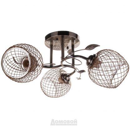 Купить Люстра 4331/3 3хЕ27х60Вт металл/стекло в Санкт-Петербурге по недорогой цене и с быстрой доставкой.