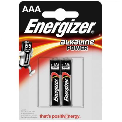 Купить Элемент питания Energizer Power Alkaline LR03 BP2 в Санкт-Петербурге по недорогой цене и с быстрой доставкой.