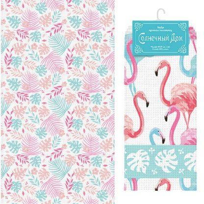 Купить Набор для кухни Фламинго: полотенце 40х70см