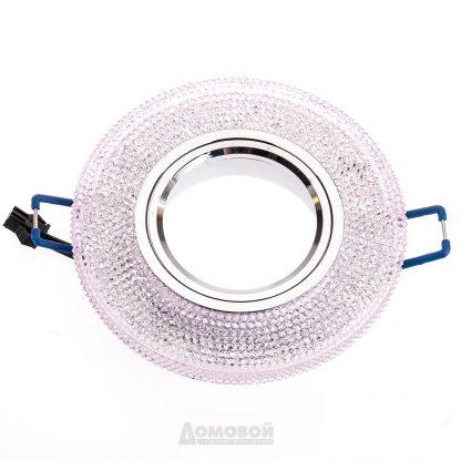Купить Светильник встраиваемый ЭРА DK LD1 PK декор c LED подсветкой 3W