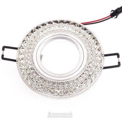 Купить Светильник встраиваемый ЭРА DK LD3 SL/RGB декор c LED подсветкой (мультиколор) 3W