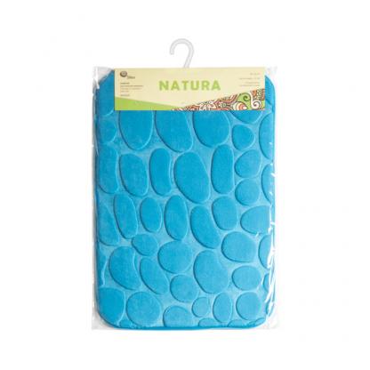 Купить Коврик для ванной NATURA синий