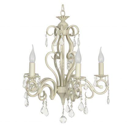 Купить Люстра ARTI LAMPADARI Gioia E 1.1.5.602 CG 5*Е14*40Вт хрусталь/белый в Санкт-Петербурге по недорогой цене и с быстрой доставкой.