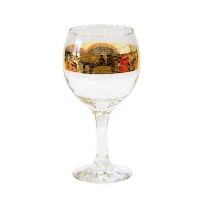 Купить Набор бокалов д/вина Пирамида 6шт 260мл с декором стекло в Санкт-Петербурге по недорогой цене и с быстрой доставкой.