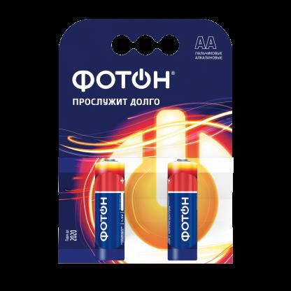 Купить Элемент питания ФОТОН LR6 КP2 в Санкт-Петербурге по недорогой цене и с быстрой доставкой.