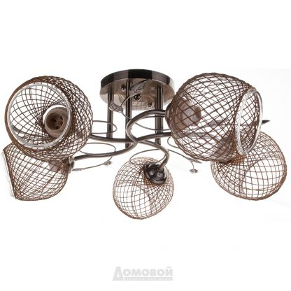 Купить Люстра 4331/5 5хE27х60Вт металл/стекло в Санкт-Петербурге по недорогой цене и с быстрой доставкой.