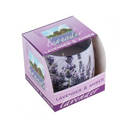 Купить Свеча-стакан ароматическая Лаванда