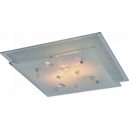 Купить Светильник настенно-потолочный Snow White 35см 2*E27*60Вт 230В