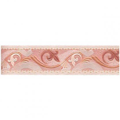 Купить Бордюр бумажный (дуплекс) 619-08 розовый 5
