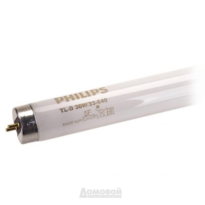 Купить Лампа люминесцентная PHILIPS TLD 36W/33 в Санкт-Петербурге по недорогой цене и с быстрой доставкой.