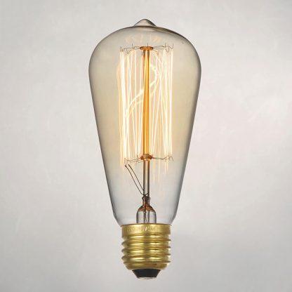 Купить Лампа накаливания декоративная 60вт ST64 230в Е27 винтаж в Санкт-Петербурге по недорогой цене и с быстрой доставкой.
