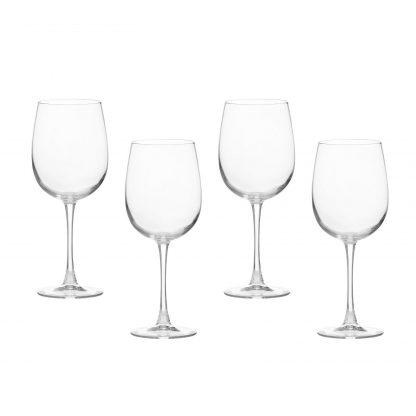 Купить Набор бокалов д/вина Аллегресс 4шт 550мл стекло в Санкт-Петербурге по недорогой цене и с быстрой доставкой.