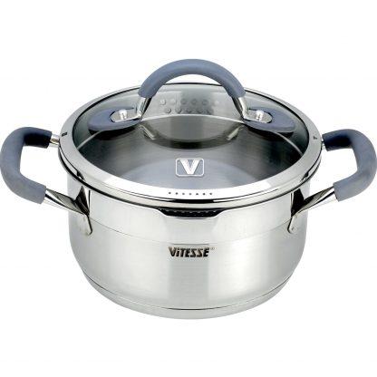 Купить Кастрюля Vitesse Uniq VS-2115 с крышкой