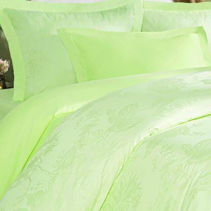 Купить Комплект постельного белья Royal салатовый Дуэт