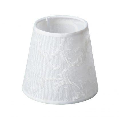 Купить Абажур VITALUCE VL6865 Романтика Е14 120/130/9 мм белый в Санкт-Петербурге по недорогой цене и с быстрой доставкой.