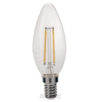 Купить Лампа светодиодная ЭРА F-LED B35-5w-840-E14 в Санкт-Петербурге по недорогой цене и с быстрой доставкой.