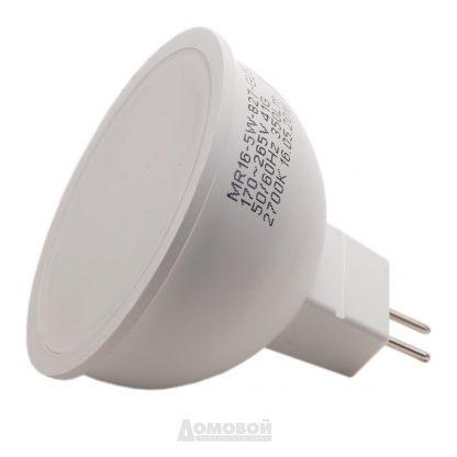 Купить Лампа светодиодная ЭРА LED smd MR16-5w-827-GU5.3 ECO (10/100/5400) в Санкт-Петербурге по недорогой цене и с быстрой доставкой.
