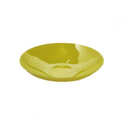 Купить Тарелка Палитра глубокая светло зеленая 22