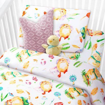 Купить Комплект постельного белья Kids Цыплята 1