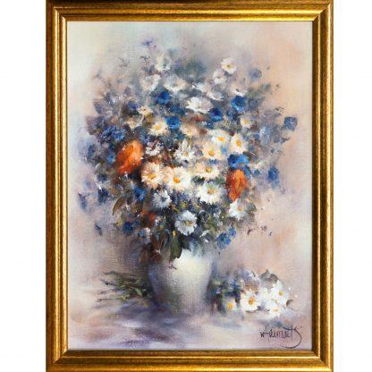 Купить Картина в раме Букет цветов 30х40см в Санкт-Петербурге по недорогой цене и с быстрой доставкой.