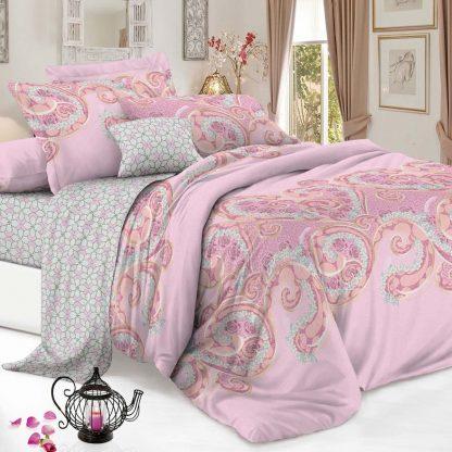 Купить Комплект постельного белья De Luxe Конти Мусс Евро