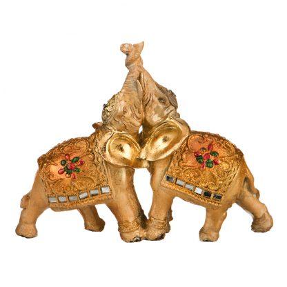 Купить Фигурка декоративная Два Золотых Слона