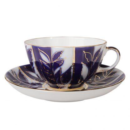 Купить Пара чайная Тюльпан Зимний вечер