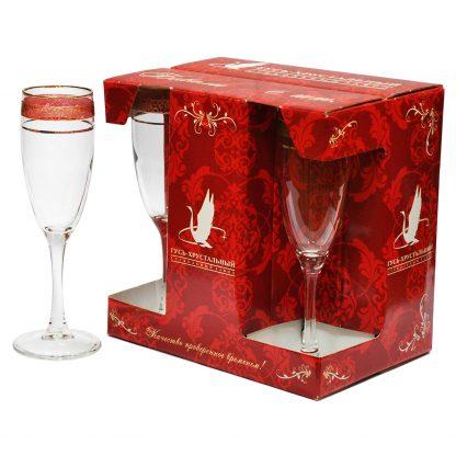 Купить Набор бокалов д/шампанского