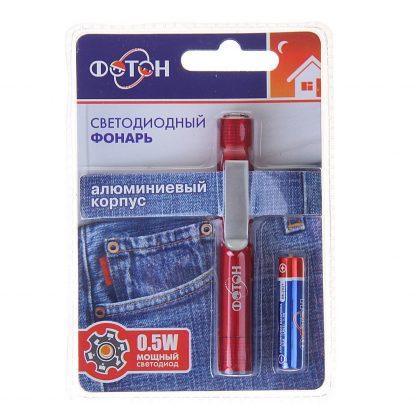 Купить Фонарь ФОТОН MS-0701 Red (1хLR03 в комплекте