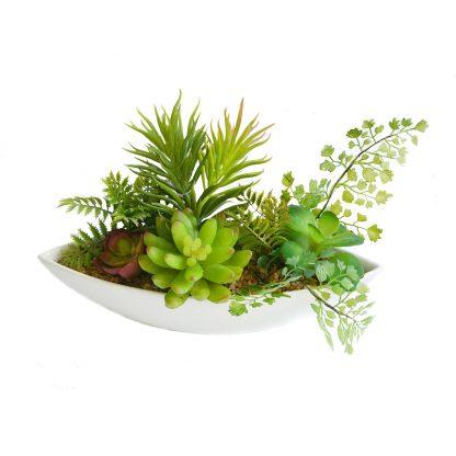 Купить Растение искусственное Композиция из суккулентов