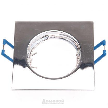 Купить Светильник встраиваемый ЭРА KL2 CH литой квадрат MR16