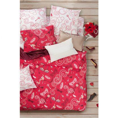 Купить Комплект постельного белья Сова и Жаворонок Будуар Евро