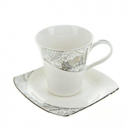 Купить Пара чайная Вавилон 210мл фарфор в Санкт-Петербурге по недорогой цене и с быстрой доставкой.