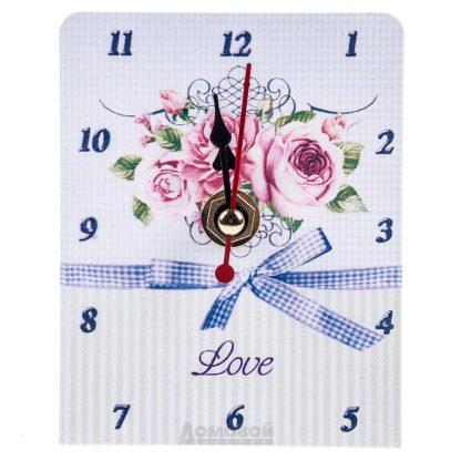 Купить Часы настольные Цветы