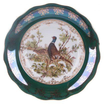 Купить Набор тарелок Охота Зеленая суповые 6шт 24см