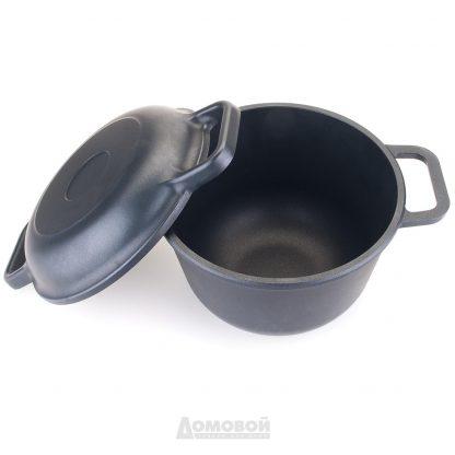Купить Казан НМП с крышкой-сковородой